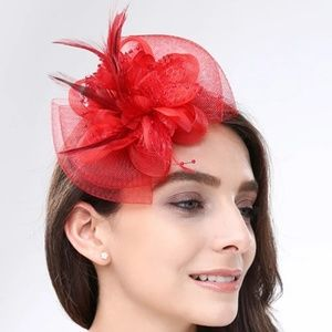 Adult Fascintor Headband in Red ❤❤🖤🖤